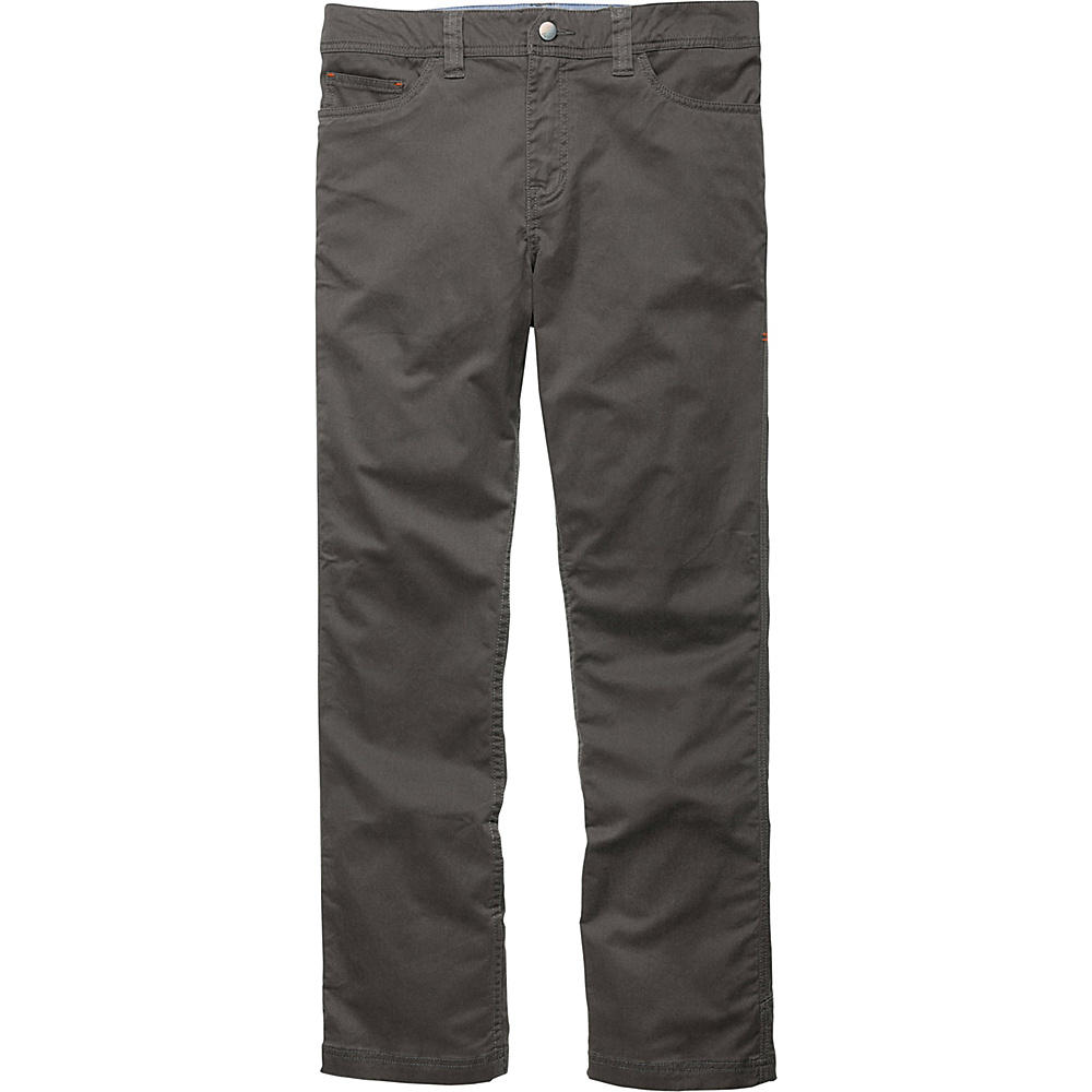 Toad & Co Sawyer Pant 36 - 30in - Dark Graphite - Toad & Co Mens Apparel - Apparel & Footwear, Men's Apparel