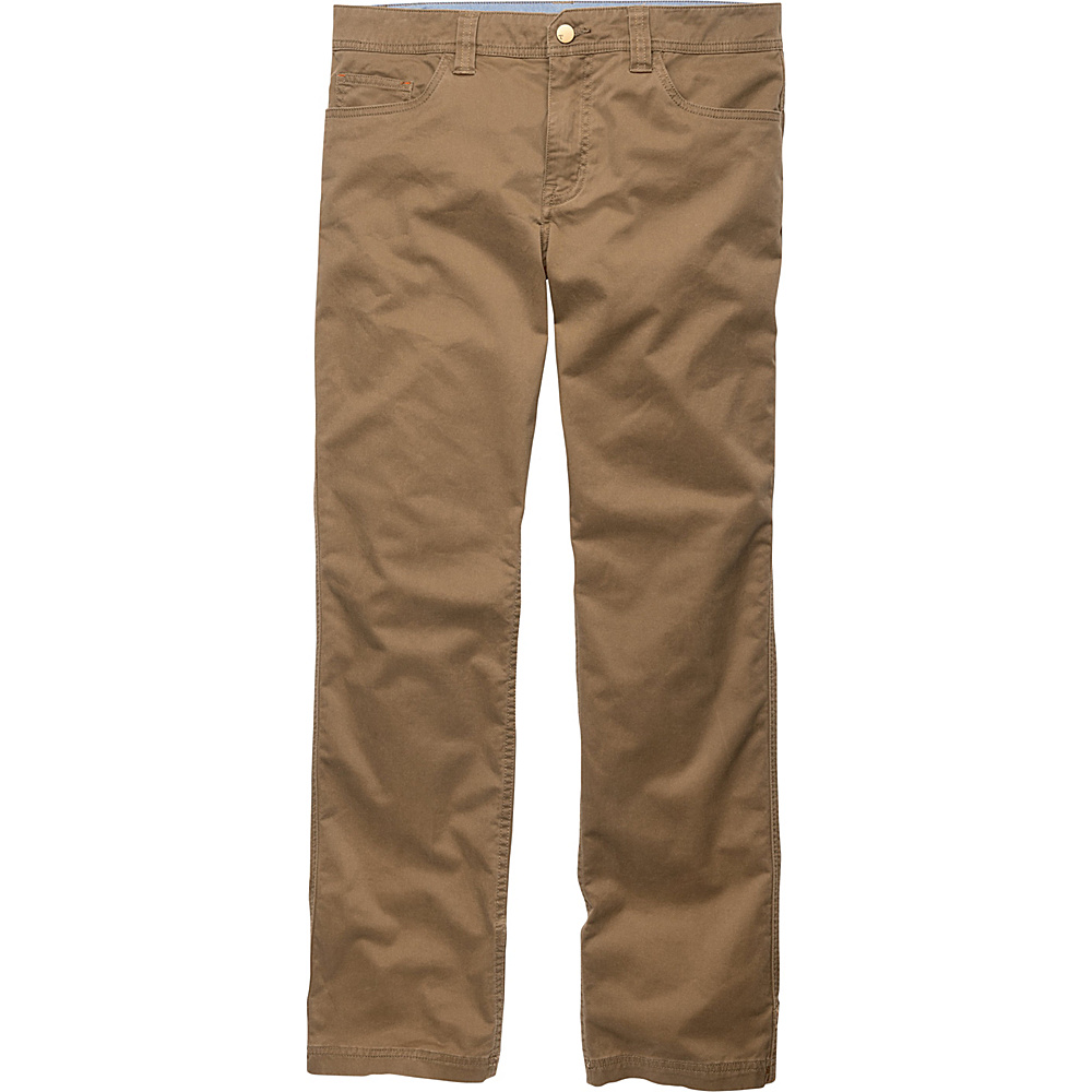 Toad & Co Sawyer Pant 32 - 34in - Honey Brown - Toad & Co Mens Apparel - Apparel & Footwear, Men's Apparel