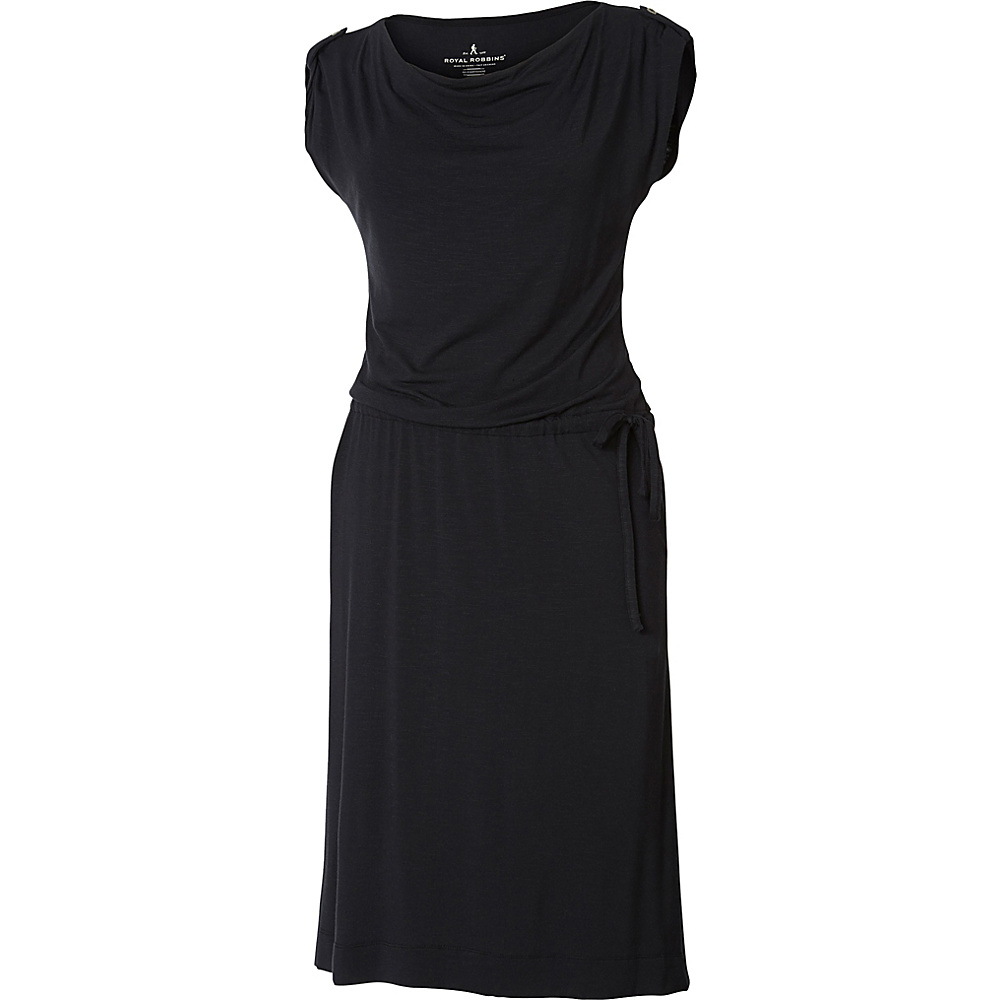 Royal Robbins Womens Noe Dress XS - Jet Black - Royal Robbins Womens Apparel - Apparel & Footwear, Women's Apparel