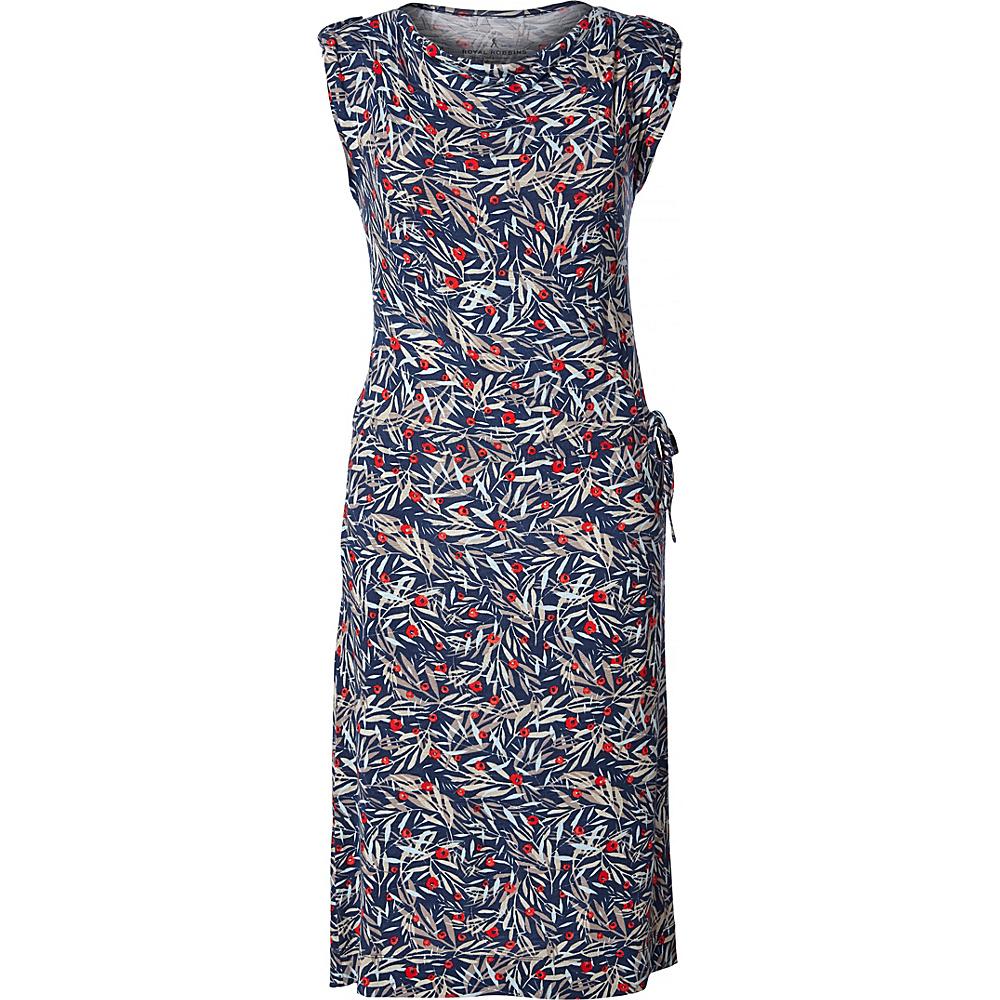 Royal Robbins Womens Noe Dress XL - Deep Blue Print - Royal Robbins Womens Apparel - Apparel & Footwear, Women's Apparel