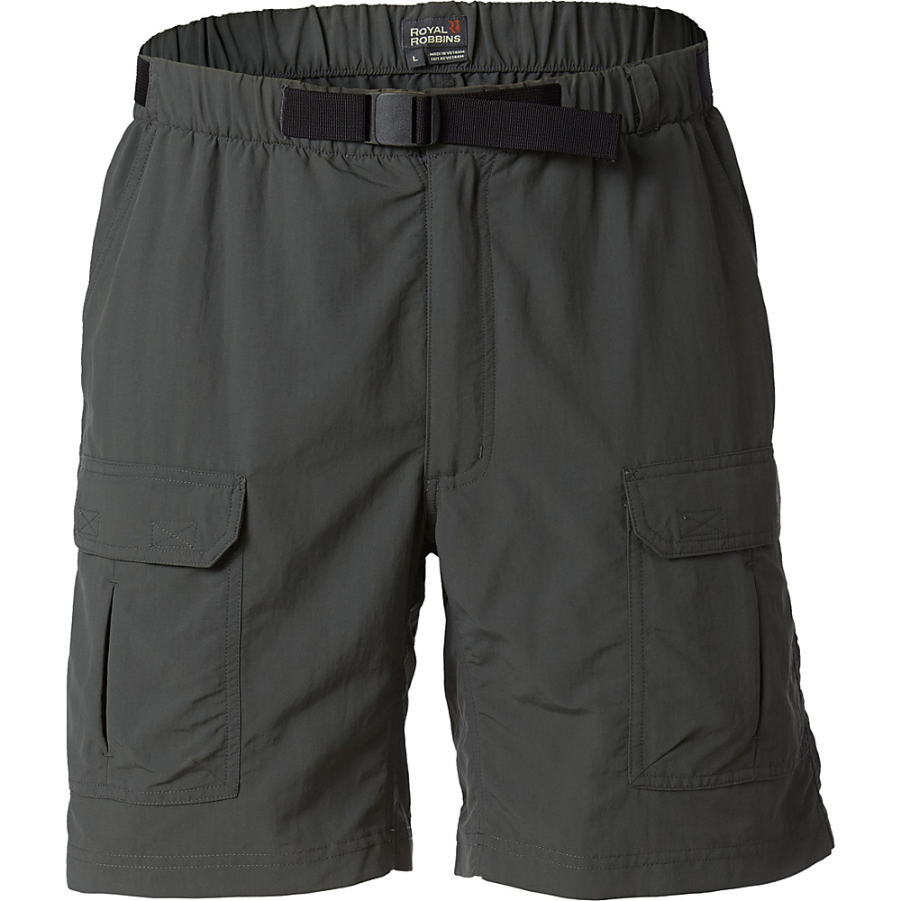 Royal Robbins Mens Backcountry Short S - Obsidian - Royal Robbins Mens Apparel - Apparel & Footwear, Men's Apparel