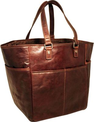 Jack Georges Voyager Picnic Bag/Oversized Tote Brown - Jack Georges Outdoor Accessories