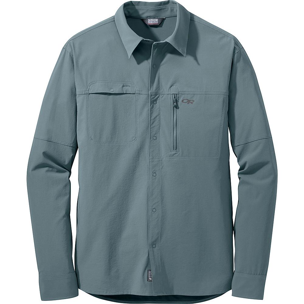 Outdoor Research Mens Ferrosi Utility L/S Shirt S - Shade - Outdoor Research Mens Apparel - Apparel & Footwear, Men's Apparel