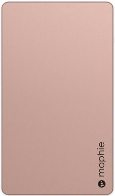 Mophie Mophie Powerstation Universal Battery 6,000mAh Rose Gold - Mophie Portable Batteries & Chargers
