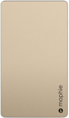 Mophie Powerstation Universal Battery 6,000mAh Gold - Mophie Portable Batteries & Chargers