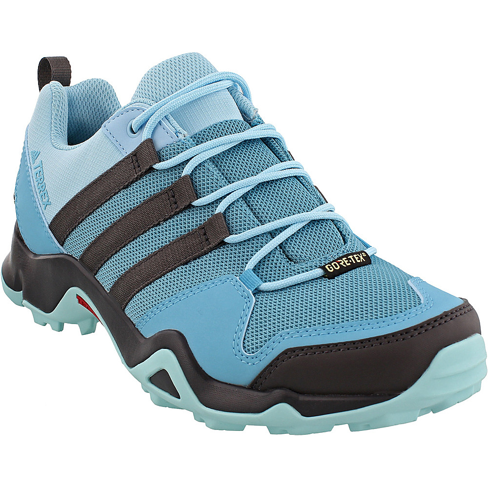 adidas outdoor Womens Terrex AX2R GTX Shoe 6.5 - Vapour Blue/Utility Black/Clear Aqua - adidas outdoor Womens Footwear - Apparel & Footwear, Women's Footwear