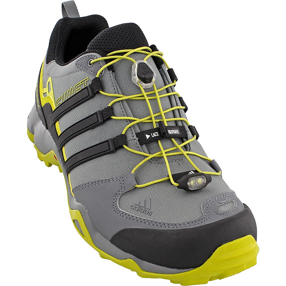 adidas outdoor Mens Terrex Swift R Shoe 7.5 - Vista Grey/Black/Unity Lime - adidas outdoor Mens Footwear - Apparel & Footwear, Men's Footwear