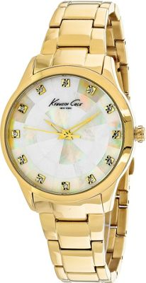 Kenneth Cole Watches Men's Classic Watch White Mother of Pearl - Kenneth Cole Watches Watches