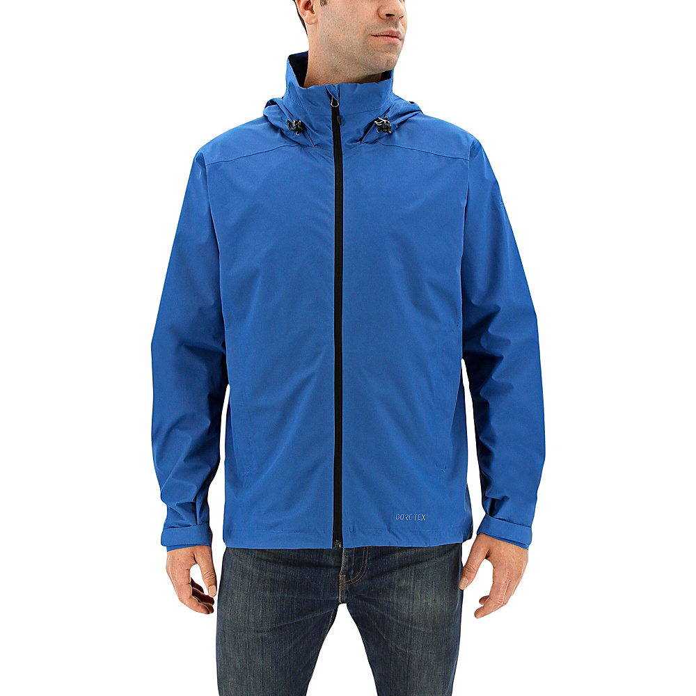 adidas outdoor Mens Wandertag GTX Jacket 2XL - Core Blue - adidas outdoor Mens Apparel - Apparel & Footwear, Men's Apparel