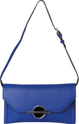 Sondra Roberts Ocean Blue Clutch Navy - Sondra Roberts Manmade Handbags