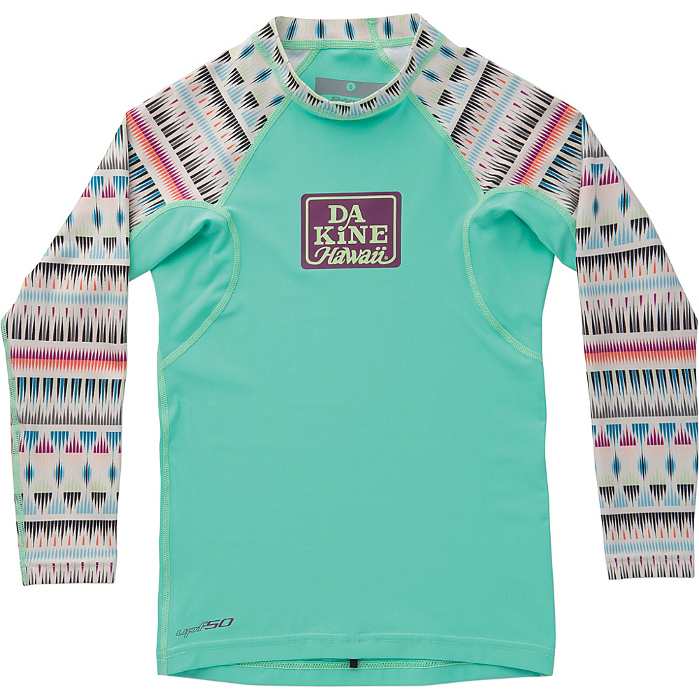 DAKINE Girls Classic Snug Fit Long Sleeve 6 - Zanzibar - DAKINE Womens Apparel - Apparel & Footwear, Women's Apparel