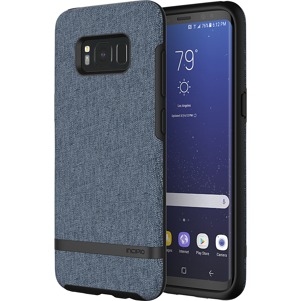 Incipio Esquire Series for Samsung Galaxy S8 Blue/Light Blue - Incipio Electronic Cases - Technology, Electronic Cases