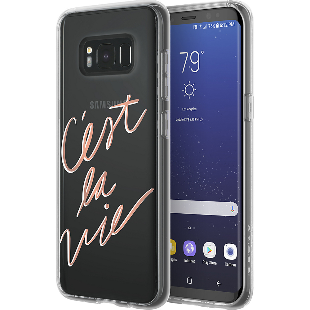 Incipio Design Series Glam for Samsung Galaxy S8 Cest La Vie - Incipio Electronic Cases - Technology, Electronic Cases