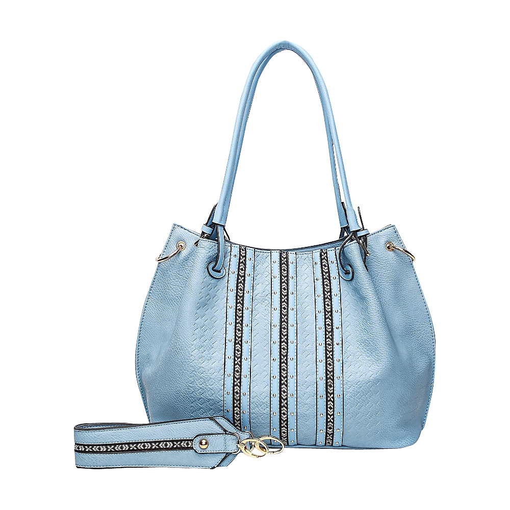 MKF Collection by Mia K. Farrow Delle Hobo Denim - MKF Collection by Mia K. Farrow Manmade Handbags - Handbags, Manmade Handbags