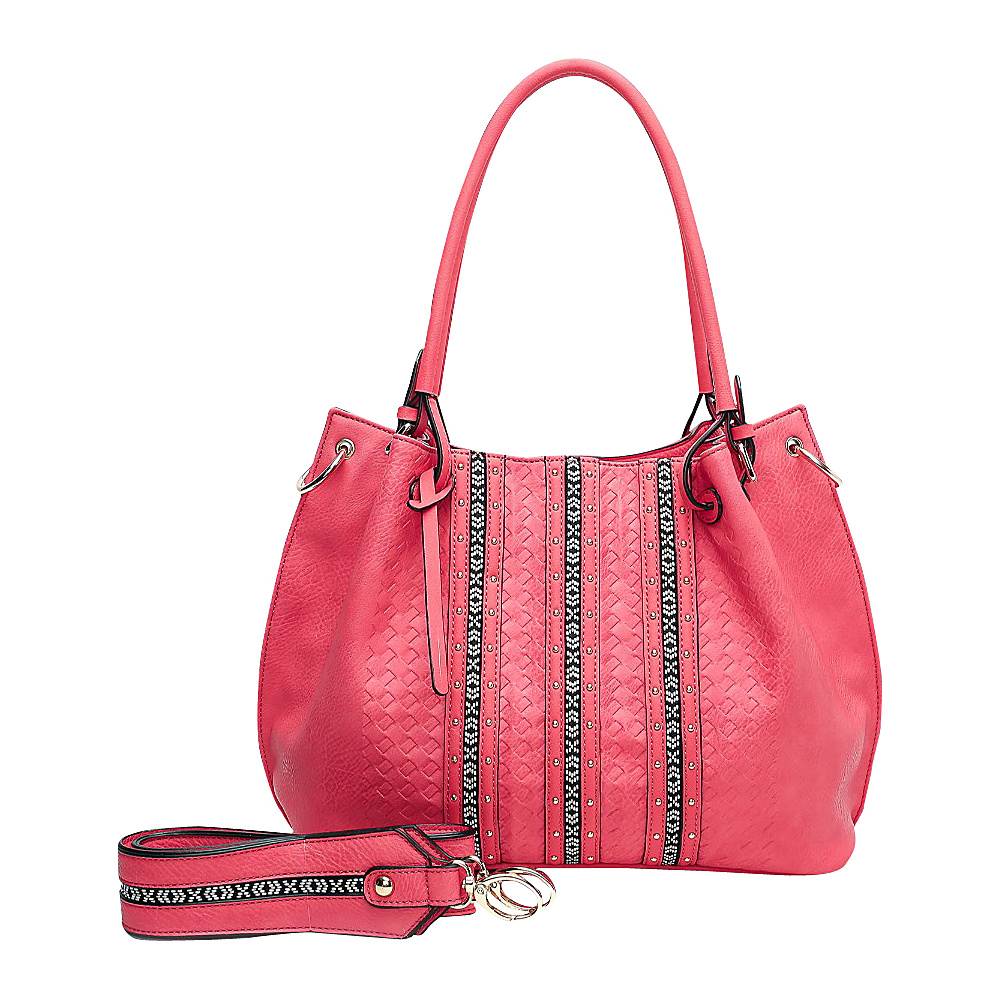 MKF Collection by Mia K. Farrow Delle Hobo Red - MKF Collection by Mia K. Farrow Manmade Handbags - Handbags, Manmade Handbags