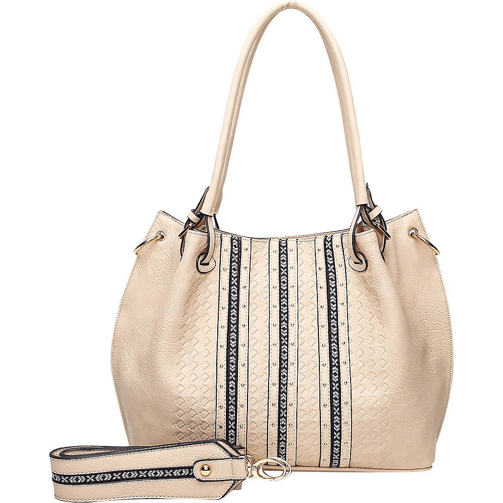 MKF Collection by Mia K. Farrow Charlott Beige - MKF Collection by Mia K. Farrow Manmade Handbags - Handbags, Manmade Handbags