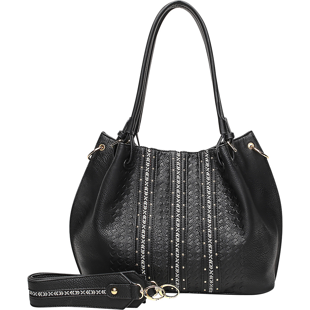 MKF Collection by Mia K. Farrow Charlott Black - MKF Collection by Mia K. Farrow Manmade Handbags - Handbags, Manmade Handbags