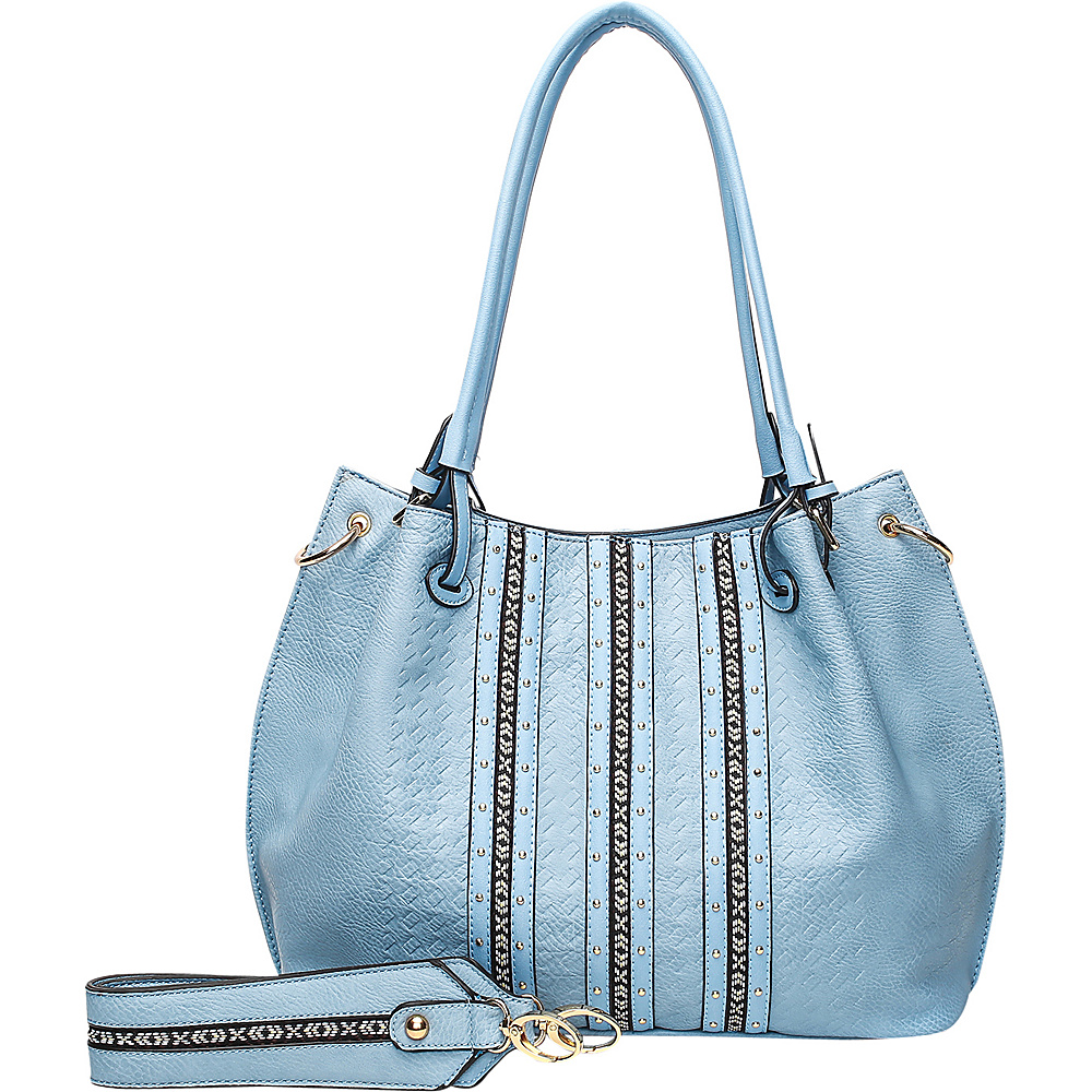 MKF Collection by Mia K. Farrow Charlott Light Blue - MKF Collection by Mia K. Farrow Manmade Handbags - Handbags, Manmade Handbags