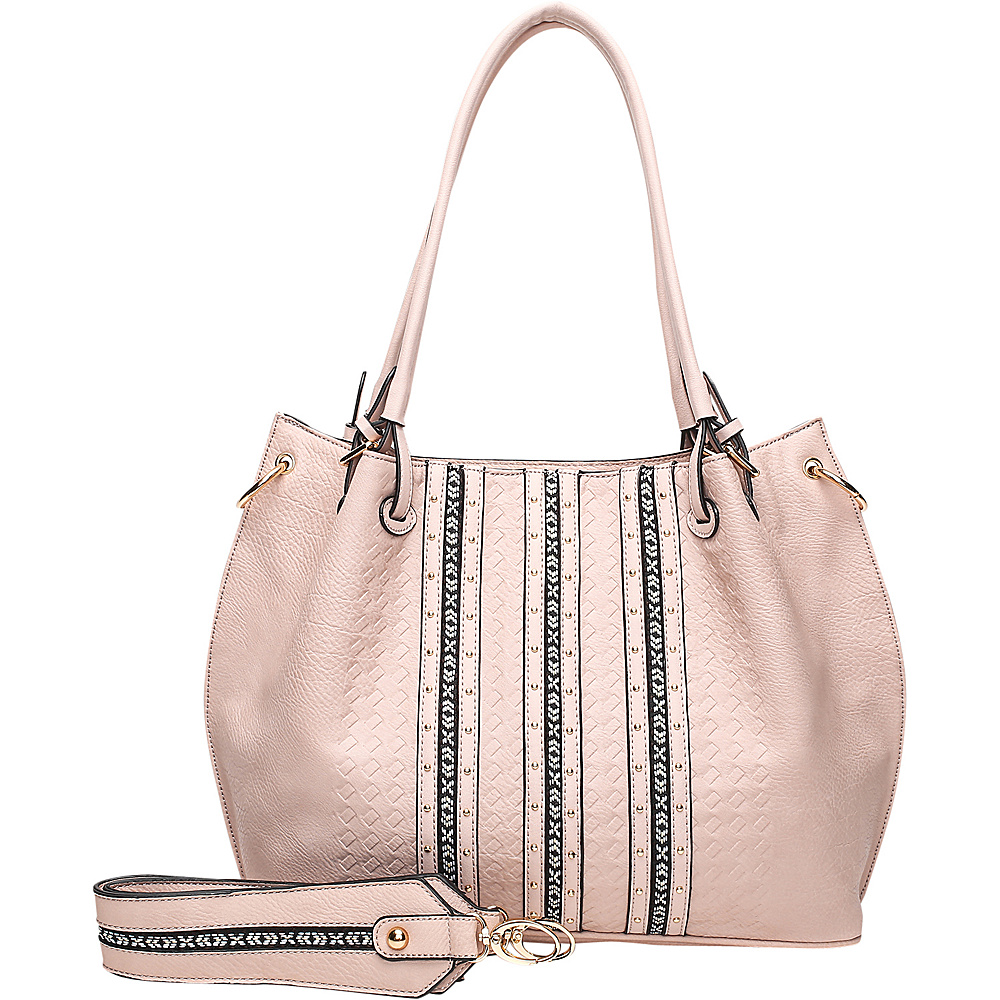 MKF Collection by Mia K. Farrow Charlott Light Pink - MKF Collection by Mia K. Farrow Manmade Handbags - Handbags, Manmade Handbags