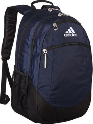adidas Striker II Backpack Collegiate Navy/Black/White - adidas School & Day Hiking Backpacks
