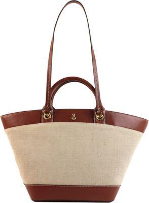 London Fog Handbags Poole Seasonal Shopper Russet - London Fog Handbags Fabric Handbags