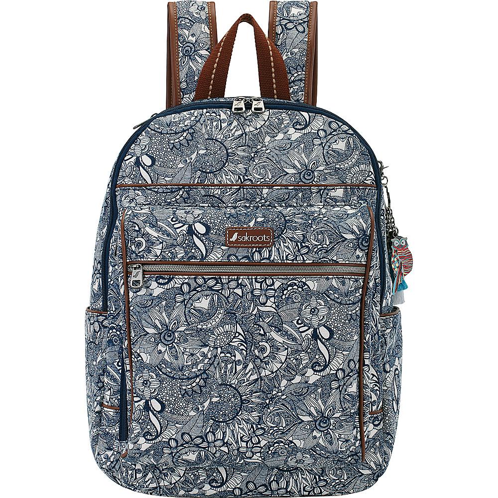 Sakroots Artist Circle Cargo Backpack Navy Spirit Desert - Sakroots Everyday Backpacks - Backpacks, Everyday Backpacks