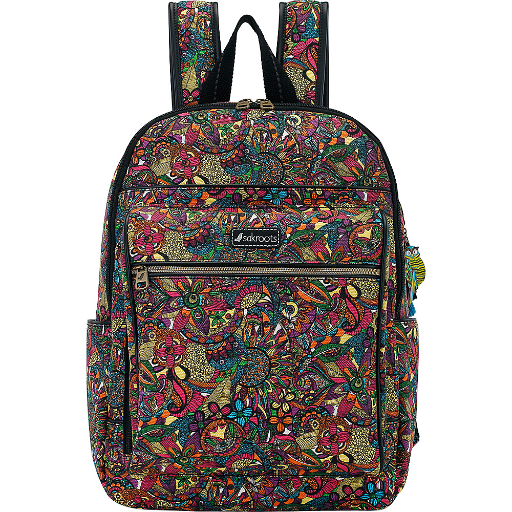 Sakroots Artist Circle Cargo Backpack Rainbow Spirit Desert Twin - Sakroots Everyday Backpacks - Backpacks, Everyday Backpacks
