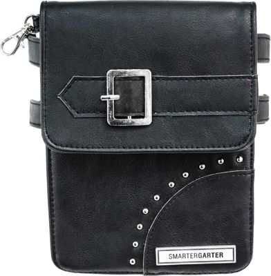 SmarterGarter Odessa 4.0 Hands-Free Purse Black - Medium - SmarterGarter Manmade Handbags