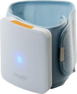 iHealth Wireless Blood Pressure Wrist Monitor White - iHealth Travel Comfort and Health