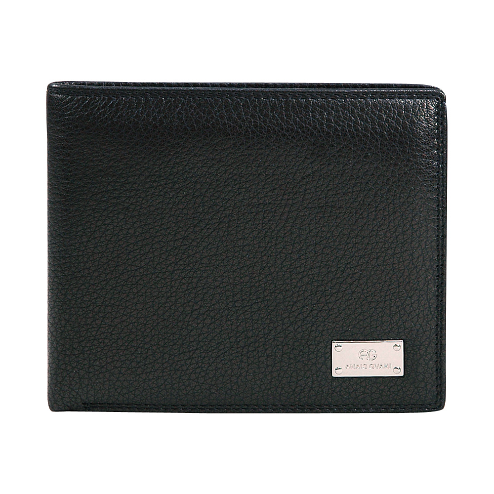 Dasein Mens Genuine Top Grain Leather Wallet Black - Dasein Mens Wallets - Work Bags & Briefcases, Men's Wallets