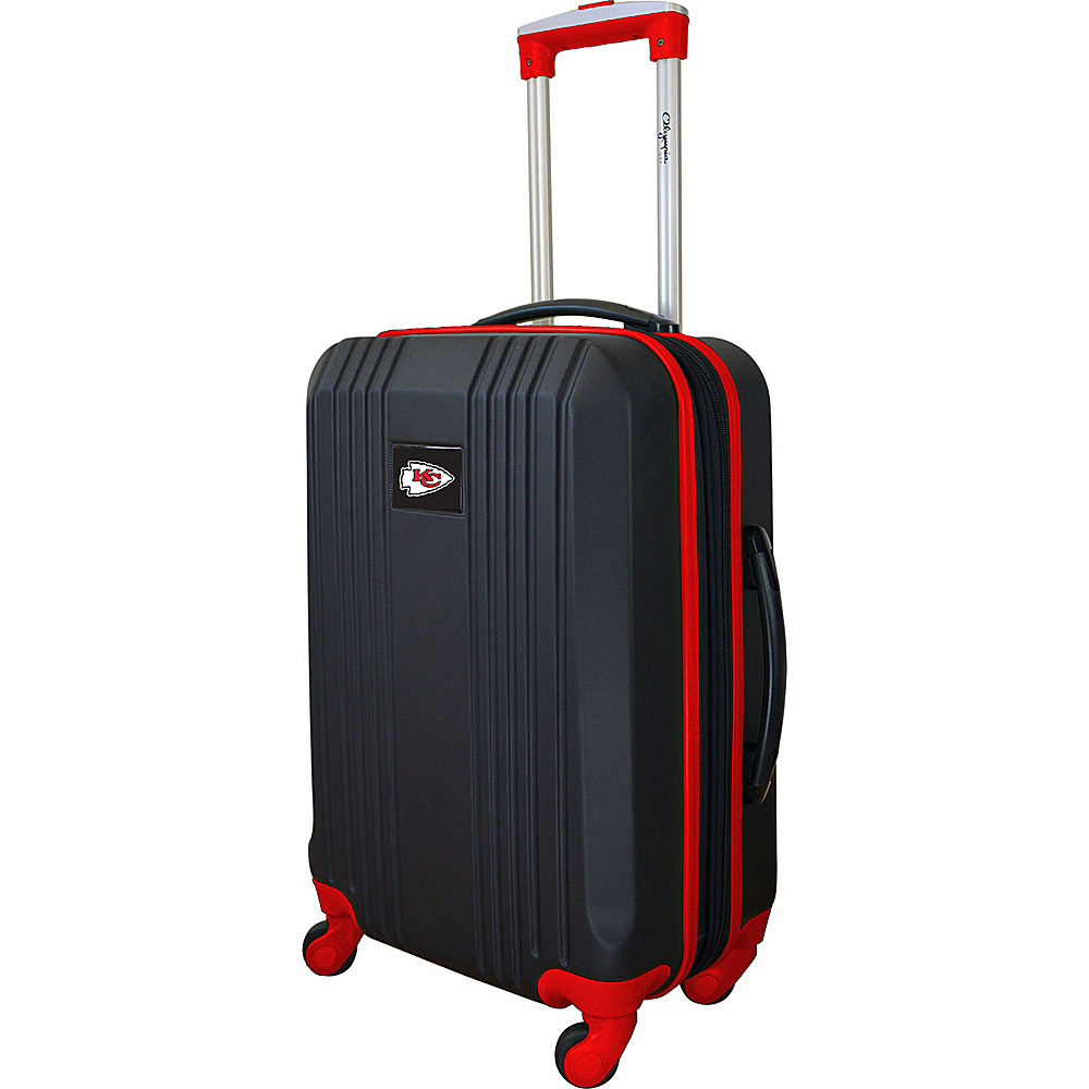 MOJO Denco 21 Carry-On Hardcase 2-Tone Spinner Kansas City Chiefs - MOJO Denco Hardside Carry-On - Luggage, Hardside Carry-On