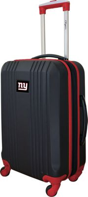 Mojo Licensing Mojo Licensing 21 inch Carry-On Hardcase 2-Tone Spinner New York Giants - Mojo Licensing Hardside Carry-On