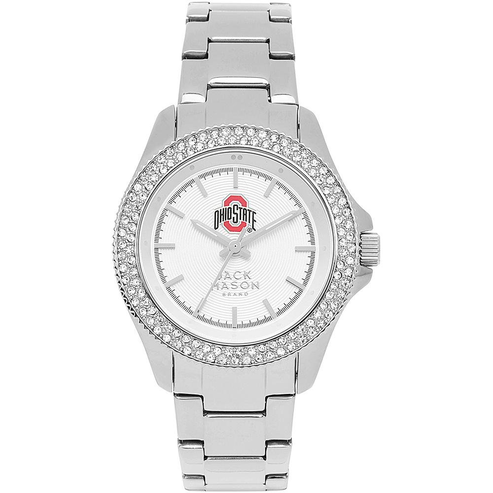 Jack Mason League NCAA Glitz Womens Watch Ohio State Buckeyes - Jack Mason League Watches - Fashion Accessories, Watches