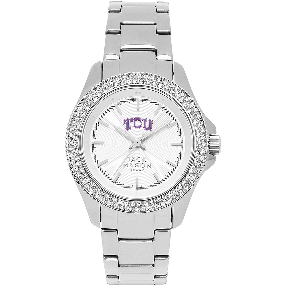 Jack Mason League NCAA Glitz Womens Watch TCU Horned Frogs - Jack Mason League Watches - Fashion Accessories, Watches