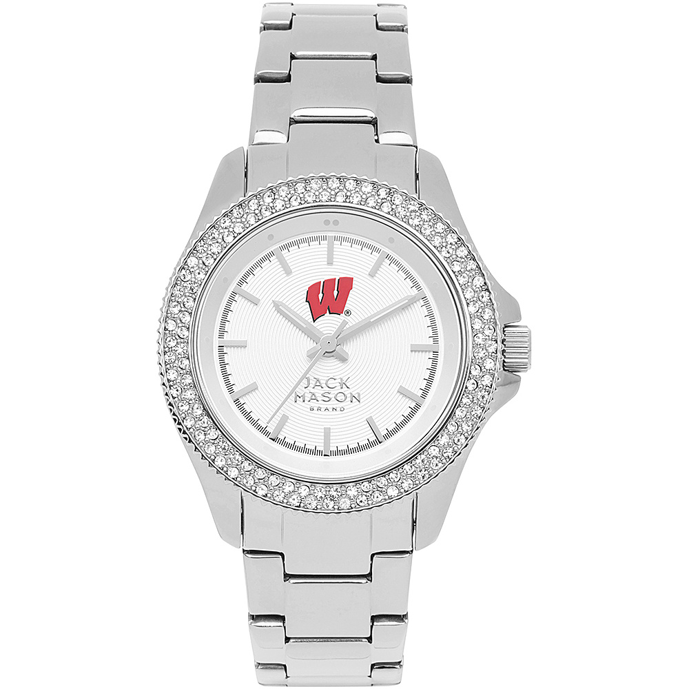 Jack Mason League NCAA Glitz Womens Watch Wisconsin Badgers - Jack Mason League Watches - Fashion Accessories, Watches