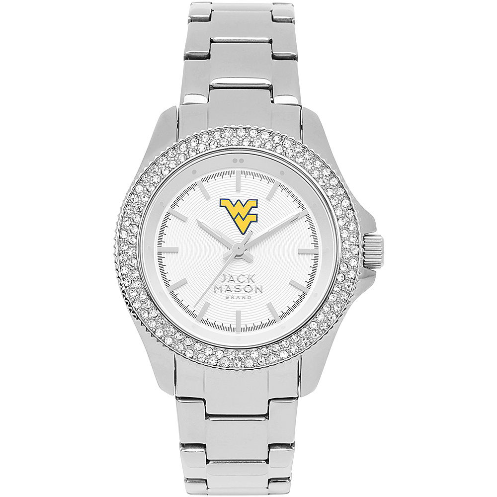 Jack Mason League NCAA Glitz Womens Watch West Virginia Mountaineers - Jack Mason League Watches - Fashion Accessories, Watches