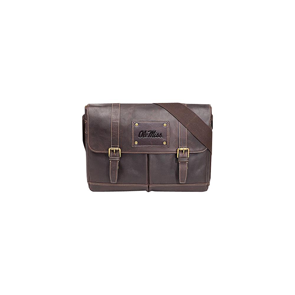 Jack Mason League NCAA Gridiron Messenger Bag Ole Miss Rebels - Jack Mason League Messenger Bags - Work Bags & Briefcases, Messenger Bags