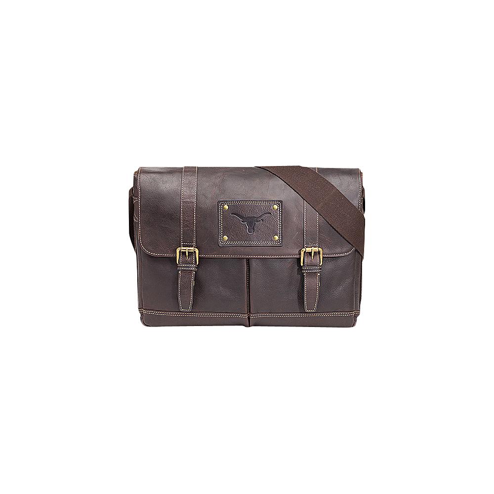 Jack Mason League NCAA Gridiron Messenger Bag Texas Longhorns - Jack Mason League Messenger Bags - Work Bags & Briefcases, Messenger Bags