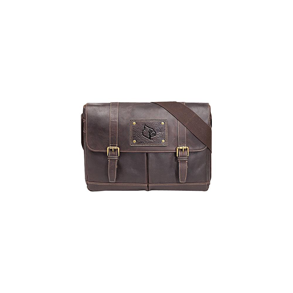 Jack Mason League NCAA Gridiron Messenger Bag Louisville Cardinals - Jack Mason League Messenger Bags - Work Bags & Briefcases, Messenger Bags