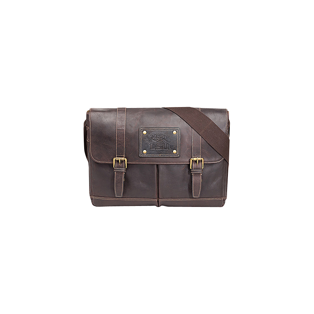Jack Mason League NCAA Gridiron Messenger Bag LSU Tigers - Jack Mason League Messenger Bags - Work Bags & Briefcases, Messenger Bags