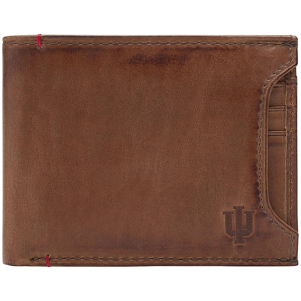 Jack Mason League NCAA Campus Bifold 2 in 1 Indiana Hoosiers - Jack Mason League Mens Wallets - Work Bags & Briefcases, Men's Wallets