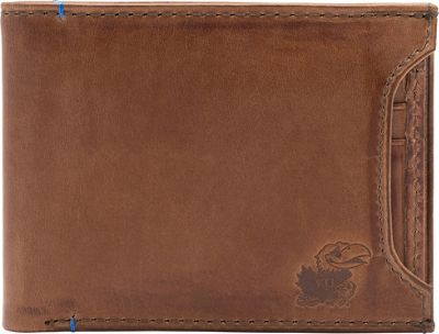 Jack Mason League NCAA Campus Bifold 2 in 1 Kansas Jayhawks - Jack Mason League Men's Wallets