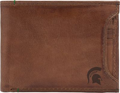 Jack Mason League NCAA Campus Bifold 2 in 1 Michigan State Spartans - Jack Mason League Men's Wallets