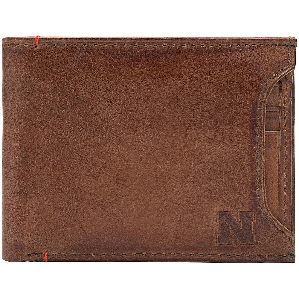 Jack Mason League NCAA Campus Bifold 2 in 1 Nebraska Cornhuskers - Jack Mason League Mens Wallets - Work Bags & Briefcases, Men's Wallets