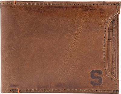 Jack Mason League NCAA Campus Bifold 2 in 1 Syracuse Orange - Jack Mason League Men's Wallets