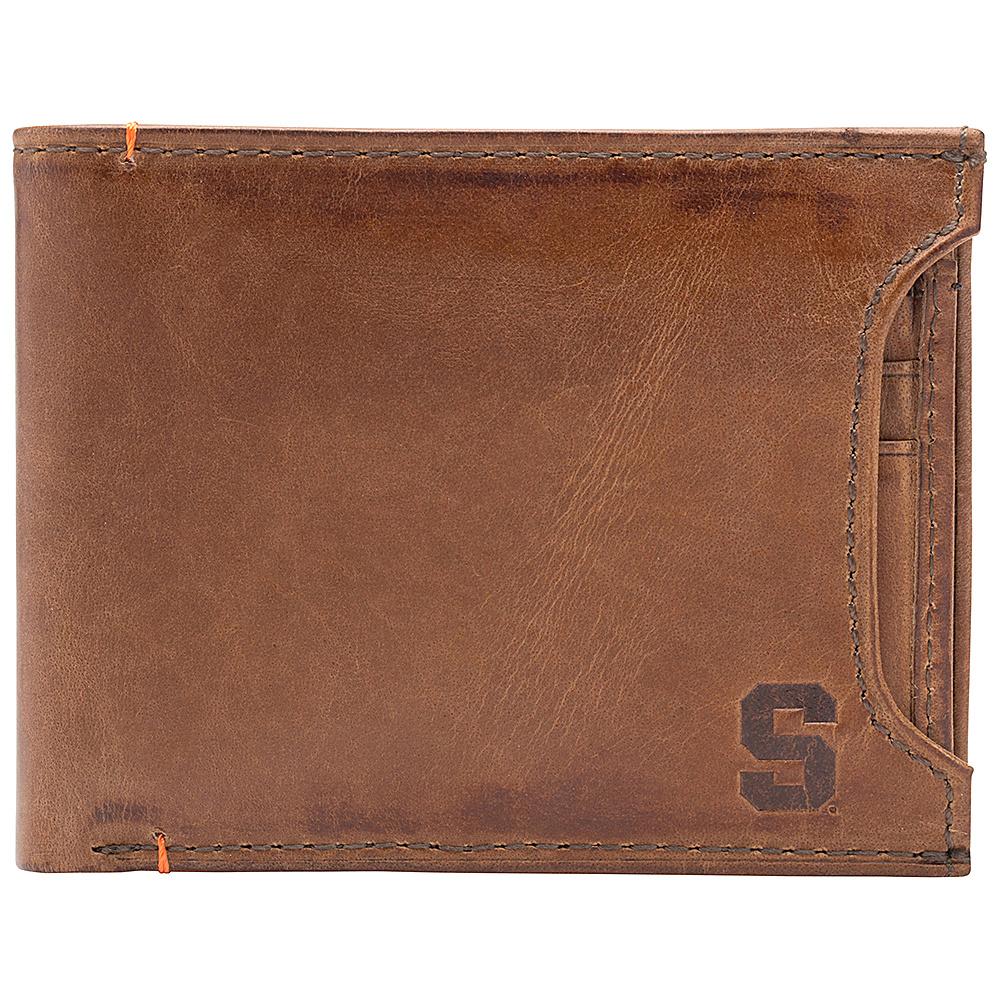 Jack Mason League NCAA Campus Bifold 2 in 1 Syracuse Orange - Jack Mason League Mens Wallets - Work Bags & Briefcases, Men's Wallets