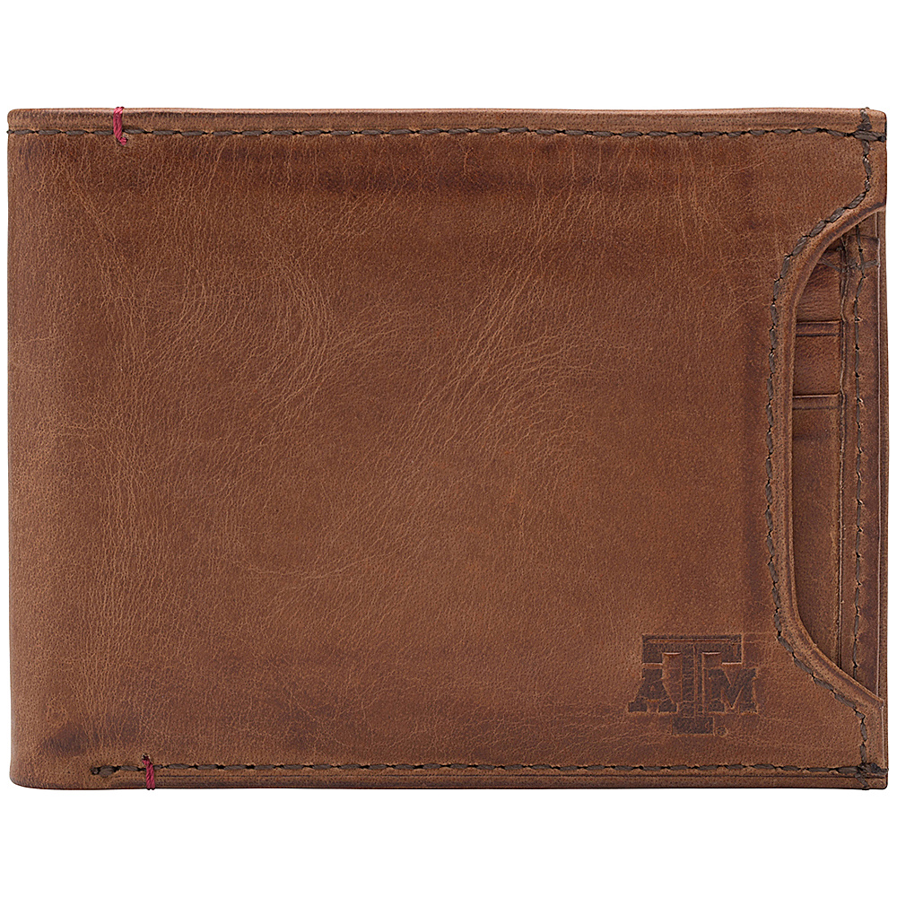 Jack Mason League NCAA Campus Bifold 2 in 1 Texas A&M Aggies - Jack Mason League Mens Wallets - Work Bags & Briefcases, Men's Wallets