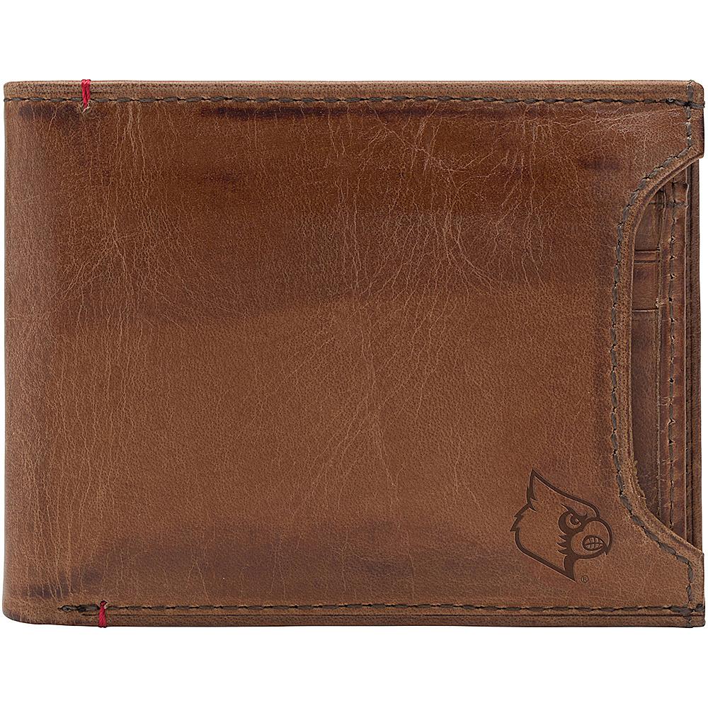 Jack Mason League NCAA Campus Bifold 2 in 1 Louisville Cardinals - Jack Mason League Mens Wallets - Work Bags & Briefcases, Men's Wallets