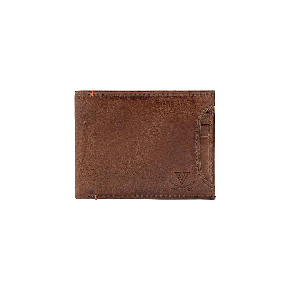 Jack Mason League NCAA Campus Bifold 2 in 1 Virginia Cavaliers - Jack Mason League Mens Wallets - Work Bags & Briefcases, Men's Wallets