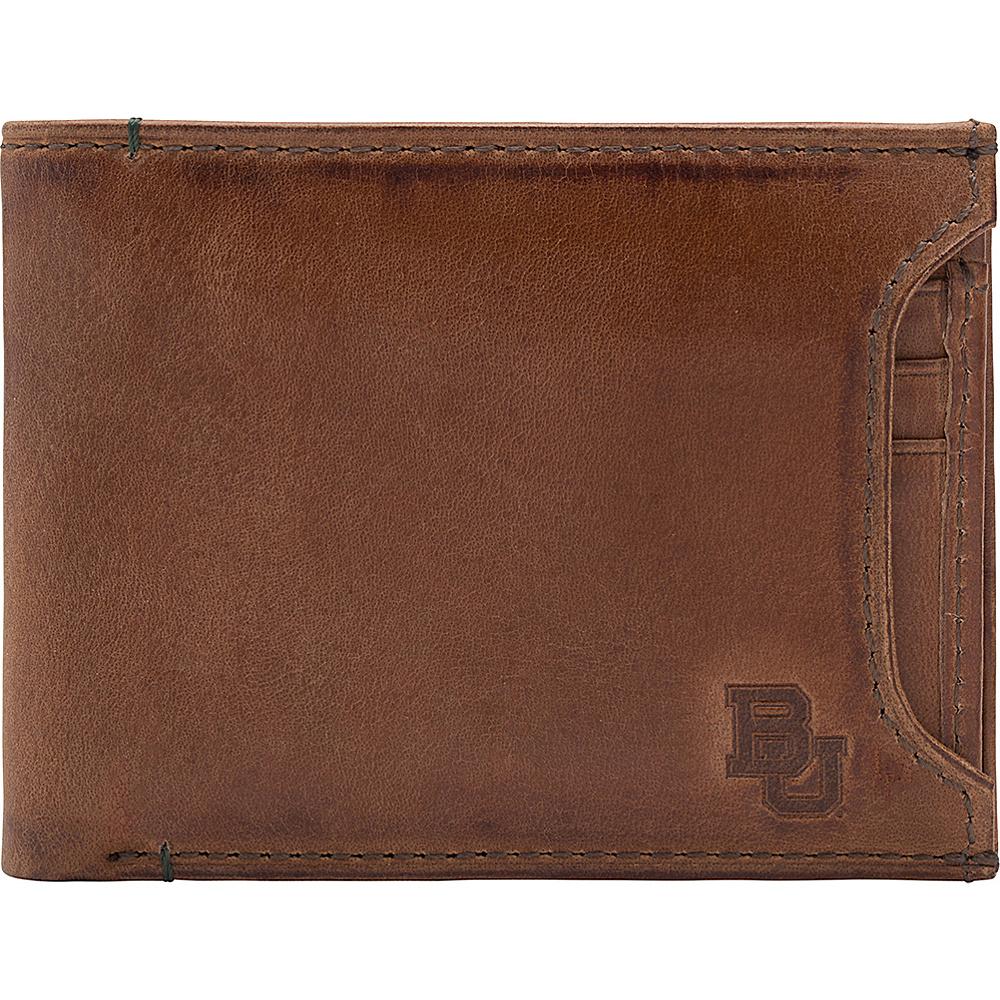 Jack Mason League NCAA Campus Bifold 2 in 1 Baylor Bears - Jack Mason League Mens Wallets - Work Bags & Briefcases, Men's Wallets